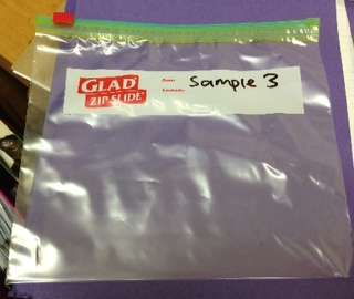 Storage bag zip slide sample 3